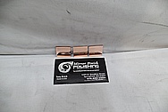 Copper Coupon Pieces AFTER Chrome-Like Metal Polishing and Buffing Services - Copper Polishing