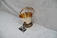 Vintage Copper Bowl AFTER Chrome-Like Metal Polishing and Buffing Services - Copper Polishing