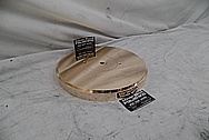Vintage Copper Turntable AFTER Chrome-Like Metal Polishing and Buffing Services - Copper Polishing