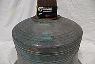 Copper Church Bell BEFORE Chrome-Like Metal Polishing and Buffing Services