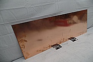 Copper Polishing BEFORE Chrome-Like Metal Polishing and Buffing Services