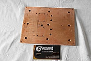 Copper Heat Sink BEFORE Chrome-Like Metal Polishing and Buffing Services / Restoration Services