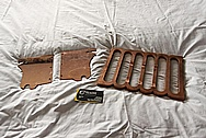 Motorcycle Custom Bracket Copper Pieces BEFORE Chrome-Like Metal Polishing and Buffing Services