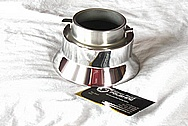 Aluminum Coffee Pot Cover Piece AFTER Chrome-Like Metal Polishing and Buffing Services / Restoration Services