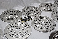 Stainless Steel Manufacture Cover Pieces AFTER Chrome-Like Metal Polishing and Buffing Services / Restoration Services