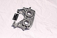 Toyota Supra Steel Backplate Cam Gear Piece AFTER Chrome-Like Metal Polishing and Buffing Services