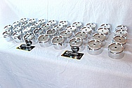 Aluminum Decorative Trophy Award Pieces AFTER Chrome-Like Metal Polishing and Buffing Services / Restoration Services