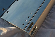 JL Audio 1000 Watt Amplifier Cover AFTER Chrome-Like Metal Polishing and Buffing Services
