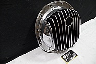 Rear Aluminum Differential Cover Piece AFTER Chrome-Like Metal Polishing and Buffing Services / Restoration Services