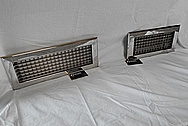 Stainless Steel Vent Covers AFTER Chrome-Like Metal Polishing and Buffing Services / Restoration Services