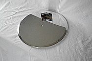 Aluminum Air Cleaner Lid AFTER Chrome-Like Metal Polishing and Buffing Services / Restoration Service