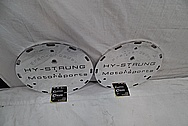 Hy-Strung Motorsports Aluminum Differential Cover AFTER Chrome-Like Metal Polishing and Buffing Services / Restoration Service