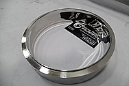 Stainless Steel Ring / Cover AFTER Chrome-Like Metal Polishing and Buffing Services / Restoration Service