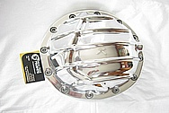 Aluminum Differential / Rear End Cover AFTER Chrome-Like Metal Polishing and Buffing Services