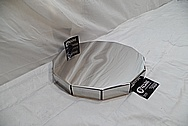 Stainless Steel Cover Piece AFTER Chrome-Like Metal Polishing and Buffing Services / Restoration Services