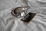 Jaguar Aluminum Cover Piece AFTER Chrome-Like Metal Polishing and Buffing Services / Restoration Services