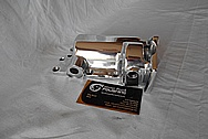 Aluminum Cover Piece AFTER Chrome-Like Metal Polishing and Buffing Services / Restoration Services
