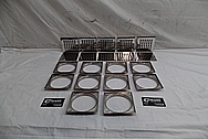 Stainless Steel Drain Cover Pieces AFTER Chrome-Like Metal Polishing and Buffing Services / Restoration Services