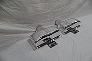 2004 - 2008 Stainless Steel Lamborghini Gallardo Exhaust AFTER Chrome-Like Metal Polishing and Buffing Services - Stainless Steel Polishing Services