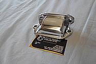 Aluminum Cover Piece AFTER Chrome-Like Metal Polishing - Aluminum Polishing