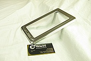 Ford Mustang Aluminum Saleen License Plate Frame / Cover Piece AFTER Chrome-Like Metal Polishing and Buffing Services