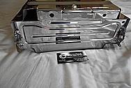 2010 - 2018 Toyota Prius Steel Batter Cover AFTER Chrome-Like Metal Polishing - Steel Polishing