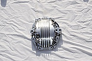 Toyota Supra 2JZ-GTE 3.0L Inline 6 Rear End Gear Differential Cover AFTER Chrome-Like Metal Polishing and Buffing Services Plus Metal Clear Coating Services