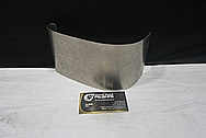 Steel Cover Piece BEFORE Chrome-Like Metal Polishing and Buffing Services / Restoration Services