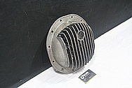 Rear Aluminum Differential Cover Piece BEFORE Chrome-Like Metal Polishing and Buffing Services / Restoration Services