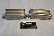 Offenhauser Aluminum Covers BEFORE Chrome-Like Metal Polishing and Buffing Services / Restoration Services