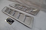 Aluminum Cover BEFORE Chrome-Like Metal Polishing and Buffing Services / Restoration Service