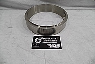 Stainless Steel Ring / Cover BEFORE Chrome-Like Metal Polishing and Buffing Services / Restoration Service