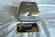 Aluminum Wico Vintage Tractor Points Cover BEFORE Chrome-Like Metal Polishing and Buffing Services / Restoration Service