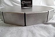 Stainless Steel Cover BEFORE Chrome-Like Metal Polishing and Buffing Services / Restoration Service
