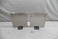 Stainless Steel Case Covers BEFORE Chrome-Like Metal Polishing and Buffing Services - Stainless Steel Polishing