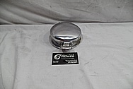1999 Dodge Viper GTS ACR Aluminum Gas Cap Assembly BEFORE Chrome-Like Metal Polishing and Buffing Services - Aluminum Polishing