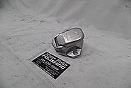 Aluminum Cover Piece BEFORE Chrome-Like Metal Polishing - Aluminum Polishing