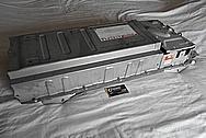 2010 - 2018 Toyota Prius Steel Batter Cover BEFORE Chrome-Like Metal Polishing - Steel Polishing