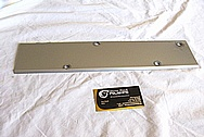 Mitsubishi EVO X Aluminum Spark Plug Cover Piece BEFORE Chrome-Like Metal Polishing and Buffing Services