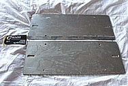 Aluminum License Plate Holder BEFORE Chrome-Like Metal Polishing and Buffing Services / Restoration Services