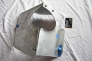Toyota Supra 2JZ-GTE Steel Airbox Piece BEFORE Chrome-Like Metal Polishing and Buffing Services