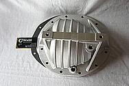 Rear End Aluminum Differential Cover BEFORE Chrome-Like Metal Polishing and Buffing Services / Restoration Services