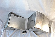 Aluminum Shield Cover Piece BEFORE Chrome-Like Metal Polishing and Buffing Services / Restoration Services