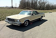 1979 ElCamino Trim Parts AFTER Chrome-Like Metal Polishing and Buffing Services / Restoration Services