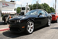 Dodge Challenger Aluminum Wheels BEFORE Chrome-Like Metal Polishing and Buffing Services