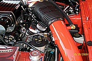 AJ's Ford Mustang Cobra V8 Aluminum Valve Covers AFTER Chrome-Like Metal Polishing and Buffing Services