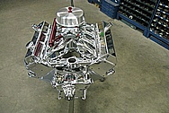 Pontiac CV1 Engine AFTER Chrome-Like Metal Polishing and Buffing Services