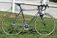 Aluminum Bicycle AFTER Chrome-Like Metal Polishing and Buffing Services