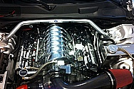 Brian's Hemi Engine Compartment AFTER Chrome-Like Metal Polishing and Buffing Services