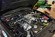 2008 Shelby GT500 Supercharger, Valve Covers, Tube, etc AFTER Chrome-Like Metal Polishing and Buffing Services